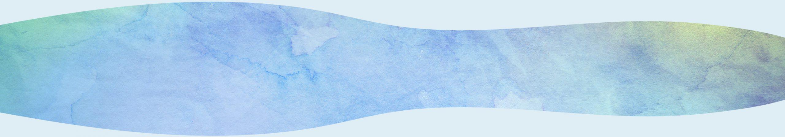 Wavy watercolour blot