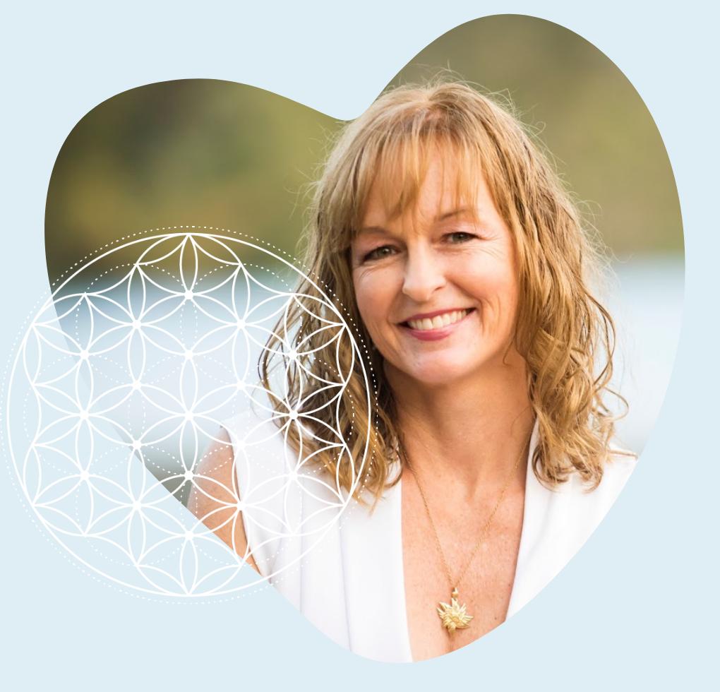 Keli Meagher in a heart